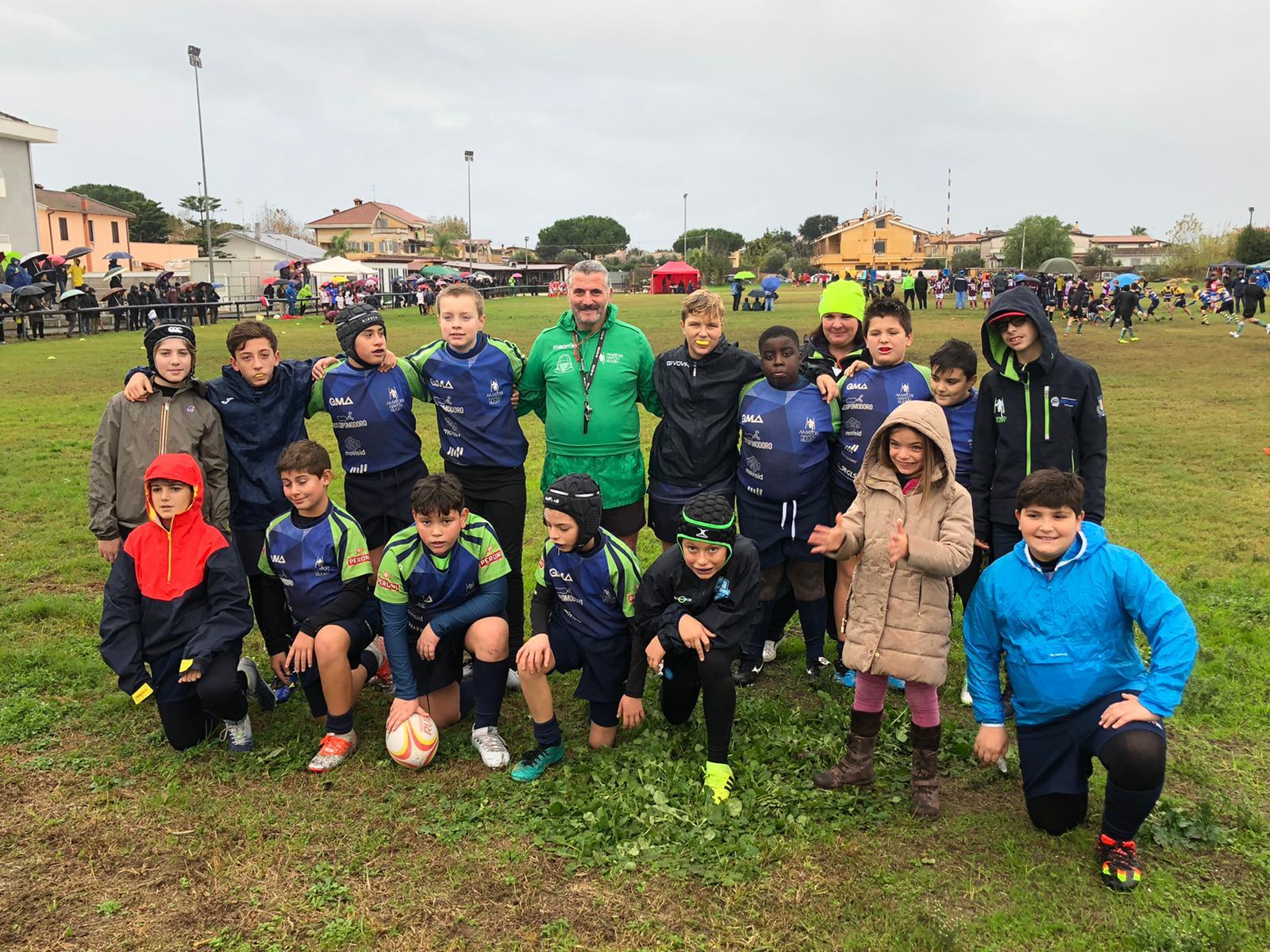 Minirugby: Torneo U12 Portus di Fiumicino