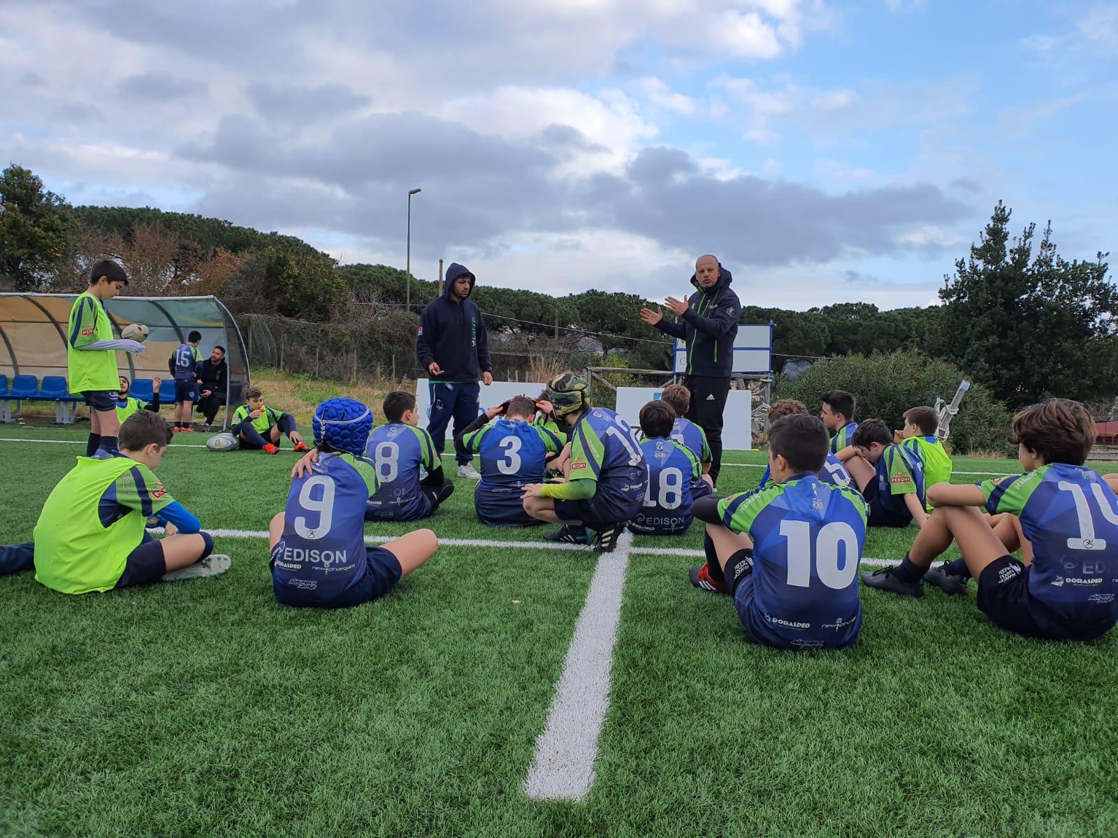 U14 maschile: Concentramento del 19/01/2020 – Villaggio del Rugby