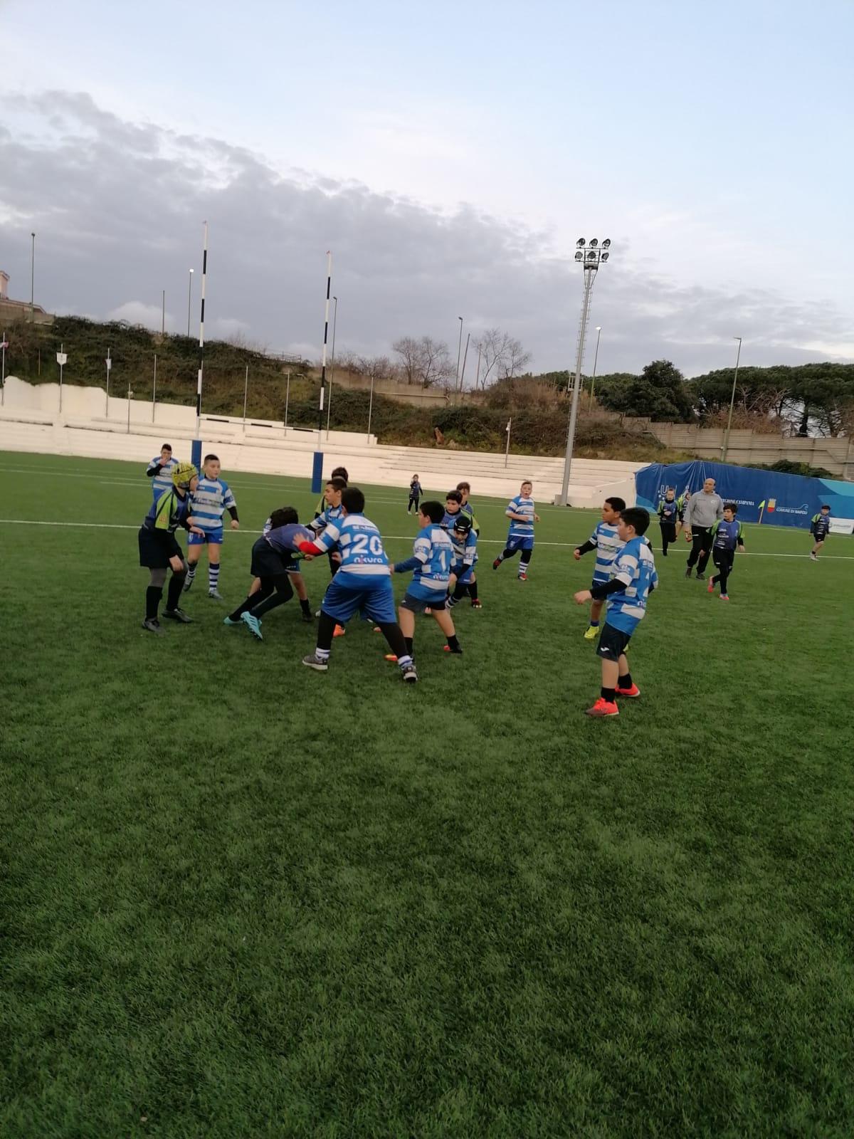 Minirugby: Raggruppamento del 25/01/2020 – Villaggio del Rugby