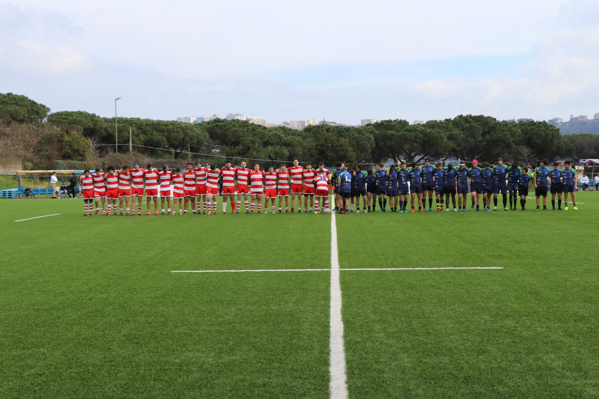 U18 maschile: Rugby Napoli Afragola vs Tigri Rugby Bari (36-0)