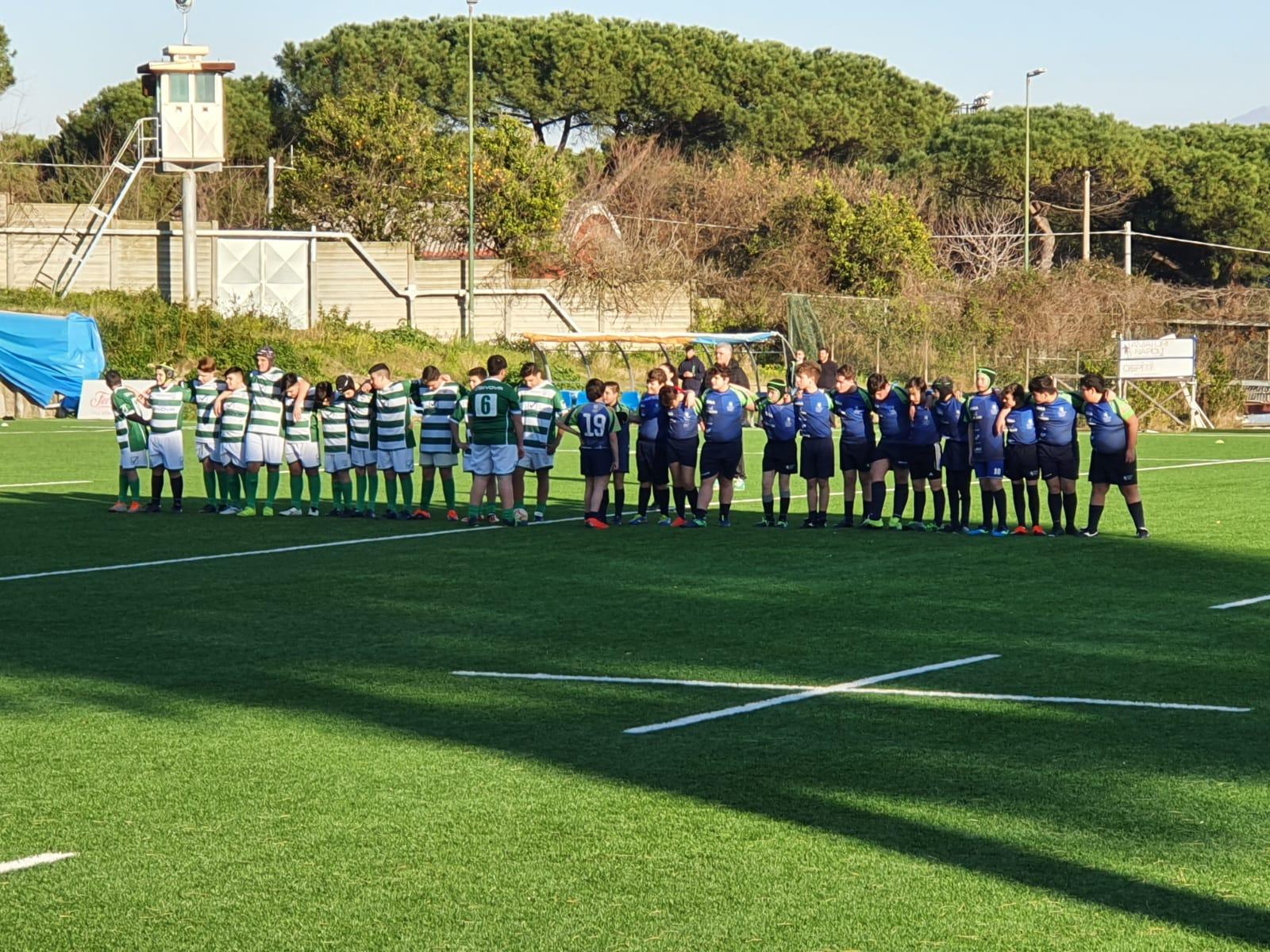U14: Amatori Napoli Rugby – Sacro Cuore Pompei – IV Circolo Benevento