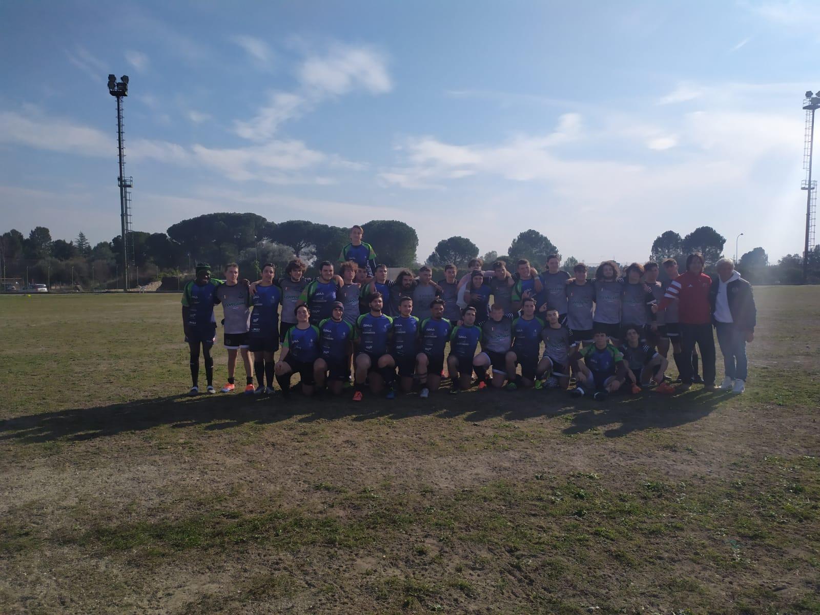 U18 maschile: Rugby Corato vs Rugby Napoli Afragola (0-64)